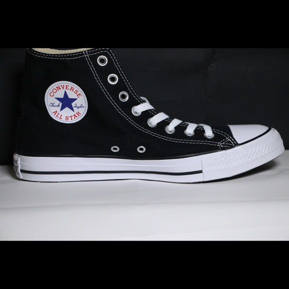 Converse Classic Black All Star High Tops NWT